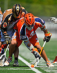 23 August 2008: Philadelphia Barrage Midfielder Roy Colsey in action against the Rochester Rattlers during the Semi-Finals of the Major League Lacrosse Championship Weekend at Harvard Stadium in Boston, MA. The Rattlers defeated the Barrage 16-15 in sudden death overtime, advancing to the upcoming Championship Game...Mandatory Photo Credit: Ed Wolfstein Photo
