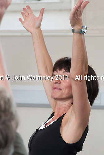 The tutor, Movement & Music, Learning Support group,  Adult Learning Centre, Guildford, Surrey.