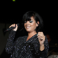 Lily Allen performing at Festival Hall, Melbourne, 28 January 2010