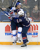 ?, Kyle Palmieri (USA - 23) - Team USA defeated Team Finland 6-2 on Saturday, January 2, 2010, at Credit Union Centre in Saskatoon, Saskatchewan during the 2010 World Juniors quarterfinals.