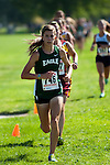 Eagle sophomore Kaitlyn Schut during the Roger Curran Invitational varsity race at West Park in Nampa, Idaho on September 8, 2012. Schut finished in 20:42.11 to take ninth place.