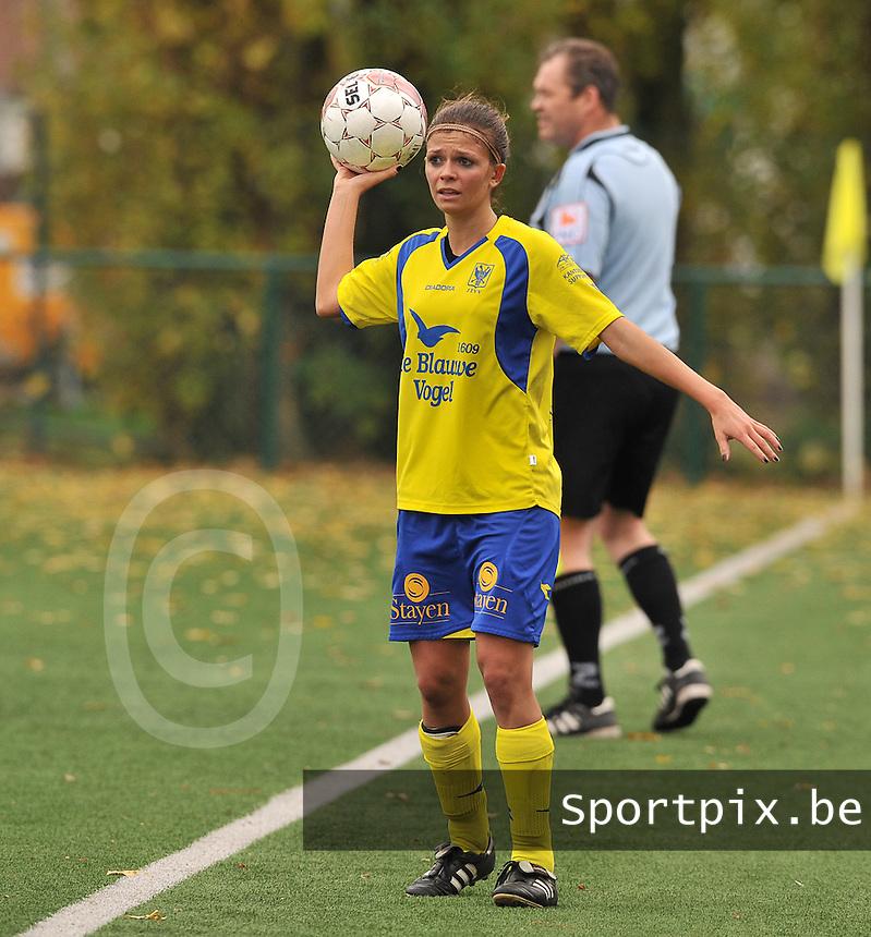 STVV Sint Truidense VV : Lien Haverals.foto DAVID CATRY / Vrouwenteam.be