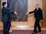 120307: Hannelore KRAFT, PM of NRW, meets José Manuel BARROSO, President of EU-Commission