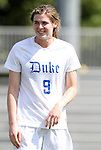 11 September 2011: Duke's Kelly Cobb. The Duke University Blue Devils defeated the University of North Carolina at Greensboro Spartans 2-0 at Koskinen Stadium in Durham, North Carolina in an NCAA Division I Women's Soccer game.