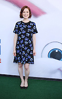 NEW YORK, NY-June 25: Ellie Kemper at Universal Pictures & Illumination Entertainment present the premiere of The Secret Life of Pets  at the  David H. Koch Theartre Lincoln Center in New York. NY June 25, 2016. Credit:RW/MediaPunch