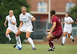 1 September 2007: North Carolina's Whitney Engen (9). The University of South Carolina Gamecocks defeated the University of North Carolina Tar Heels 1-0 at Fetzer Field in Chapel Hill, North Carolina in an NCAA Division I Womens Soccer game.