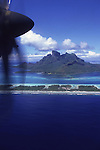 Prop Plane, Bora Bora, French Polynesia<br />