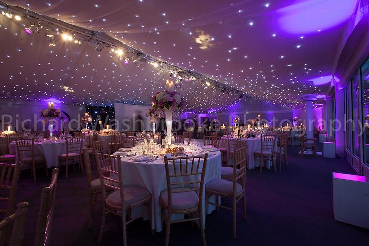 Luton Hoo Walled Garden Conservatory Wedding Set Up 3rd