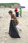 Kylie-ana, Trillium & Kaya On Beach Cleanup