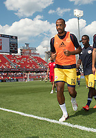 July 20, 2013: New York Red Bulls forward Thierry Henry #14 walks off the pitch after the warm-up during a game between Toronto FC and the New York Red Bulls at BMO Field in Toronto, Ontario Canada.<br /> The game ended in a 0-0 draw.