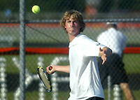 Boys Tennis vs Hamilton Heights 9-9-09