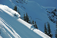 JP Auclair, feeeski pioneer, skis amazing powder in retallack, british columbia