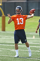 Ross Metheny during open spring practice for the Virginia Cavaliers football team August 7, 2009 at the University of Virginia in Charlottesville, VA. Photo/Andrew Shurtleff