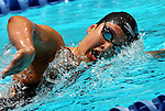 24 MAR 2012:  Caroline Wilson of Williams swims in the 1650 yard freestyle event during the Division III Mens and Womens Swimming and Diving Championship held at the IU Natatorium in Indianapolis, IN.  Wilson won the event in 16:40. 42. Michael Hickey/NCAA Photos