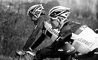 Dwars door Vlaanderen 2012.Fabian Cancellara on recon