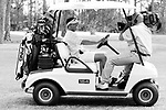ARTURO GATTI (3/12) -- Arturo Gatti smiles for an HBO cameraman who strategically placed himself on the dash of his golf cart as Gatti plays a Sunday morning round of golf at Sand Ridge in Vero Beach, FL.   (4/17/05)  VERO BEACH, FL