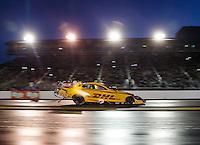 Jul 29, 2016; Sonoma, CA, USA; NHRA funny car driver Del Worsham during qualifying for the Sonoma Nationals at Sonoma Raceway. Mandatory Credit: Mark J. Rebilas-USA TODAY Sports
