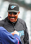 13 March 2010: Toronto Blue Jays' Manager Cito Gaston chats prior to a Spring Training game against the Atlanta Braves at Champion Stadium in the ESPN Wide World of Sports Complex in Orlando, Florida. The Blue Jays shut out the Braves 3-0 in Grapefruit League action. Mandatory Credit: Ed Wolfstein Photo