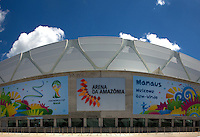 General View of the Arena Da Amazonia Stadium