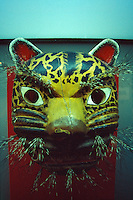 Ceremonial Jaguar Mask, National Mask Museum, San Luis Potosi, Mexico