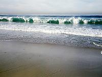 EBBING TIDE.North Oregon Beach.
