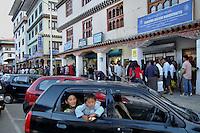 Thimpu central market. Arindam Mukherjee..
