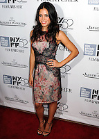 NEW YORK CITY, NY, USA - OCTOBER 10: Jenna Dewan arrives at the 52nd New York Film Festival - 'Foxcatcher' Premiere held at Alice Tully Hall on October 10, 2014 in New York City, New York, United States. (Photo by Celebrity Monitor)