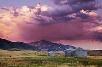 Thunderstorm Sunset, Swan Valley, Idaho