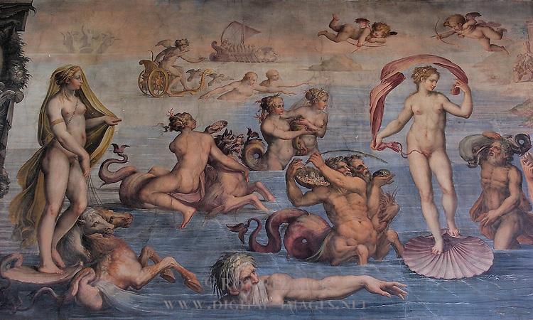 Birth of Venus Vasari Gherardi Apartment of the Elements Palazzo Vecchio Florence