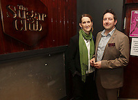 04/06/14<br /> (No Fee pixs) Namih and Johnathan Casey  arriving to the Stella Bass Album Launch &ldquo;TOO DARN HOT&rdquo; which took place in the Sugar Club Co Dublin this evening&hellip;<br /> Pic Collins  Photos