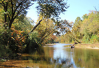 NWA Democrat-Gazette/FLIP PUTTHOFF <br /> Ozark streams such as the Kings River are fine destinations for a fall foliage float trip.