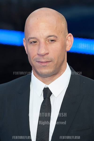 Vin Diesel arriving for the 'Fast And Furious 6' Premiere, at Empire Leicester Square, London. 07/05/2013 Picture by: Simon Burchell / Featureflash