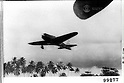 Japanese Zero Fighters at the New Guinea Front, undated, were leaving for the battlefront.