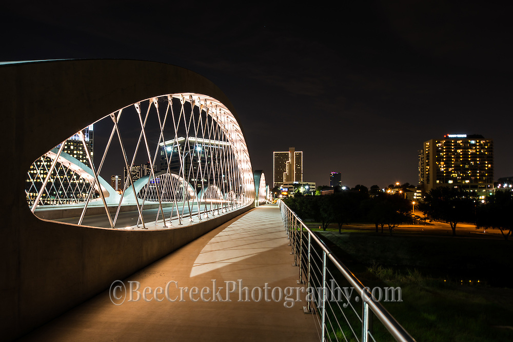 The photos of the bridge at night were really great so it was hard to pick what shots to include of the Seventh Street Bridge in Ft Worth