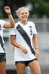 07 September 2014: Penn State's Maddie Elliston. The Duke University Blue Devils hosted the Penn State University Nittany Lions at Koskinen Stadium in Durham, North Carolina in a 2014 NCAA Division I Women's Soccer match. PSU won the game 4-3.