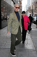NEW YORK, NY - APRIL 11: John Waters spotted leaving 'Good Day New York' where he talked about his book 'Making Trouble'  in New York, New York on April 11 , 2017.  Photo Credit: Rainmaker Photo/MediaPunch
