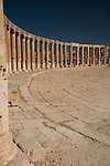 Rows of pillars in Jerash