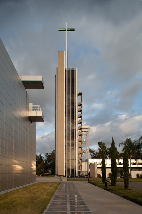 Part of the Crystal cathedral complex Orange County California Architect Philip Johnson
