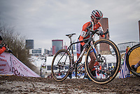 Marianne Vos (NED/WM3)<br /> <br /> Women's Race<br /> UCI 2017 Cyclocross World Championships<br /> <br /> january 2017, Bieles/Luxemburg