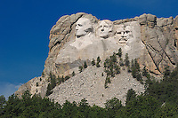 Mt. Rushmore National Memorial, Black Hills, South Dakota, USA