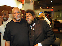Dr. Cornel West Backstage At Most Dangerous Man in America