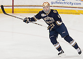 Andy Ryan (ND - 6) - The visiting University of Notre Dame Fighting Irish defeated the Boston College Eagles 2-1 in overtime on Saturday, March 1, 2014, at Kelley Rink in Conte Forum in Chestnut Hill, Massachusetts.