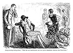 "Lady (choosing bathing-dress). ""They're all marvellous, but not quite deafening enough for Deauville."""