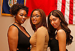 Waterbury, CT 022617MK05  Ashley Alston, Dominique Tatis with Zoey Tess gathered during the Post University Second Annual Black Excellence Ball at the Black Student Union. The event commemorated the second anniversary of the newly revived Post University BSU.   Michael Kabelka / Republican-American