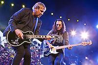 Rush perform at Mohegan Sun Arena May 9, 2013.