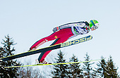 LOGAR Eva of Slovenia competes during 11th Women FIS Ski Jumping World Cup competition in Planica replacing Ljubno  on January 25, 2014 at HS95, Planica, Slovenia. Photo by Vid Ponikvar / Sportida