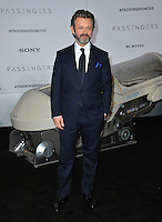 Actor Michael Sheen at the world premiere of &quot;Passengers&quot; at the Regency Village Theatre, Westwood. <br /> December 14, 2016<br /> Picture: Paul Smith/Featureflash/SilverHub 0208 004 5359/ 07711 972644 Editors@silverhubmedia.com