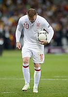 FUSSBALL  EUROPAMEISTERSCHAFT 2012   VIERTELFINALE England - Italien                     24.06.2012 Wayne Rooney (England)