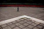 A man flies a kite in Ritan Park in Beijing, China on Wednesday, August 6, 2008. Ritan Park is one of three parks designated for protests during the Olympics. The city of Beijing is gearing up for the opening ceremonies of the Olympic Games.  Kevin German