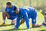 St Johnstone Training&hellip;.30.09.16<br />Joe Gormley pictured during training this morning<br />Picture by Graeme Hart.<br />Copyright Perthshire Picture Agency<br />Tel: 01738 623350  Mobile: 07990 594431